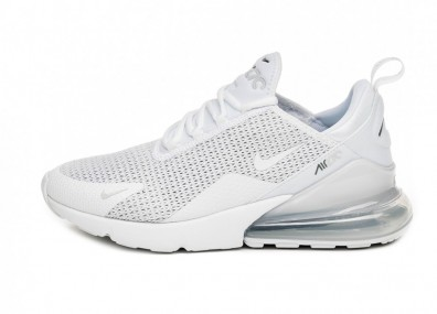 Кроссовки Nike Air Max 270 SE (White / White - Pure Platinum - Cool Grey)