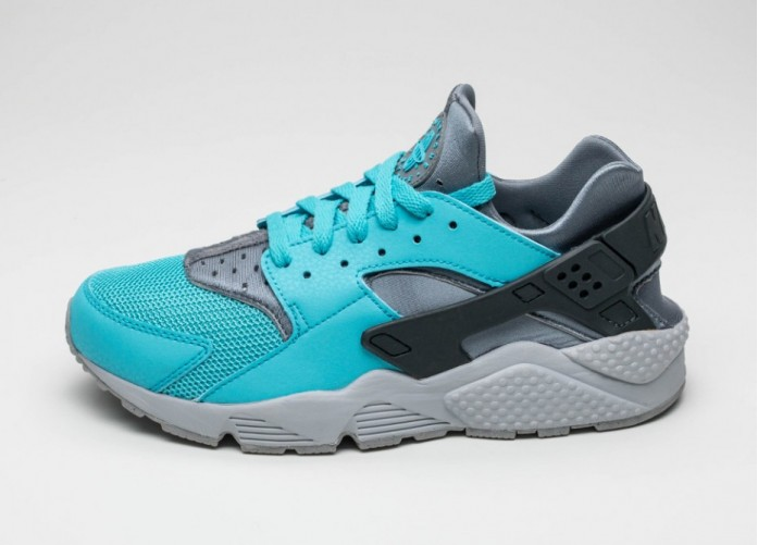 Мужские кроссовки Nike Air Huarache (Beta Blue / Beta Blue - Anthracite - Cool Grey) | Интернет-магазин Sole