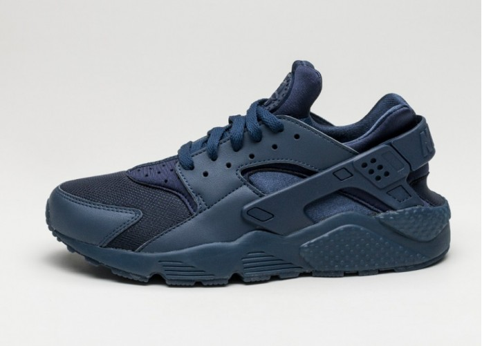Мужские кроссовки Nike Air Huarache (Midnight Navy / Midnight Navy) | Интернет-магазин Sole