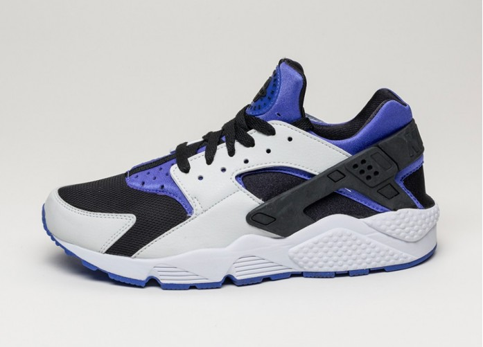 Мужские кроссовки Nike Air Huarache (Persian Violet / Pure Platinum - Black) | Интернет-магазин Sole