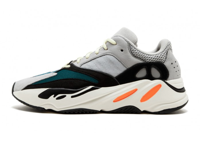 Кроссовки adidas Yeezy Boost 700 Wave Runner - Grey / Chalk White / Core Black | Интернет-магазин Sole