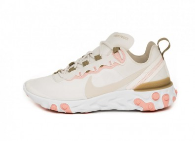 Кроссовки Nike Wmns React Element 55 (Phantom / Light Orewood Brown - Parachute Beige)