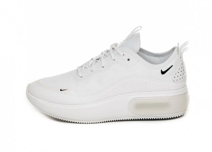 Кроссовки Nike Wmns Air Max Dia SE (White / Midnight Navy - Metallic Red Bronze) | Интернет-магазин Sole