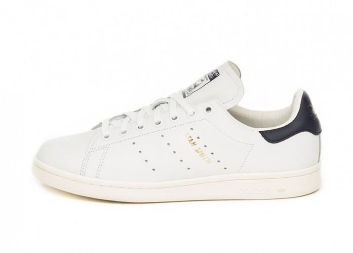 Кроссовки adidas Stan Smith (Ftwr White / Ftwr White / Noble Ink)   Интернет-магазин Sole