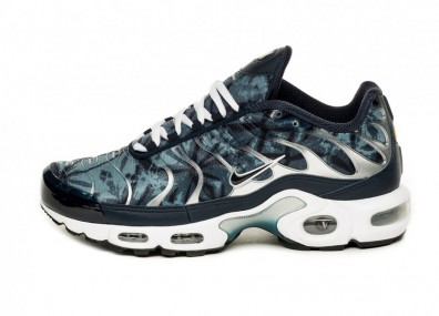 Кроссовки Nike Air Max Plus OG (Blue Shadow / Obsidian - Medium Denim - White)
