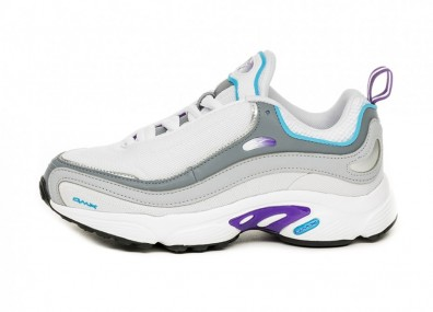 Кроссовки Reebok Daytona DMX (White / Regal Purple / Bright Cyan)