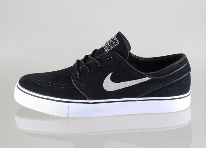 Мужские кроссовки Nike SB Zoom Stefan Janoski (Black / Black) | Интернет-магазин Sole