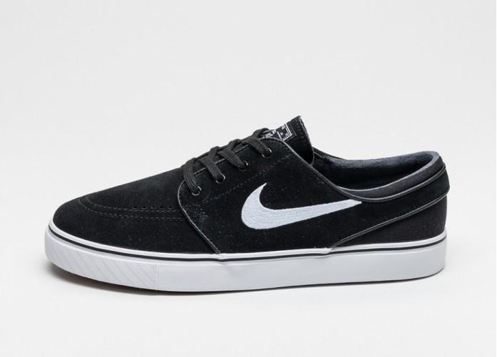 Мужские кроссовки Nike SB Air Zoom Stefan Janoski (Black / White) | Интернет-магазин Sole