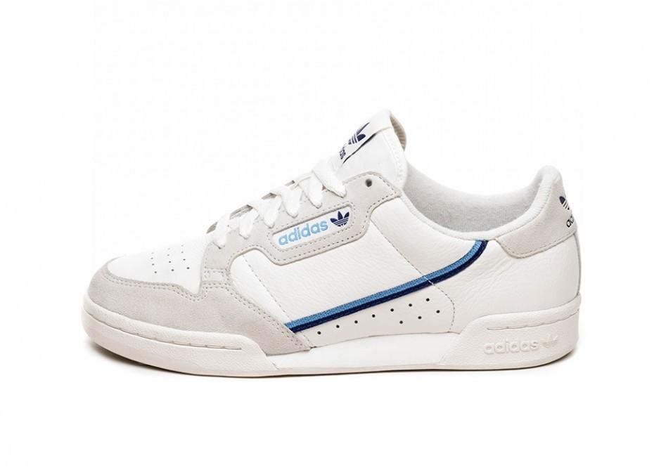 4cffc041 Кроссовки adidas Continental 80 W (Off White / Cloud White / Raw White)