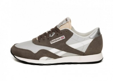 Кроссовки Reebok Classic Nylon Trek (Grey / Steel / Chalk)