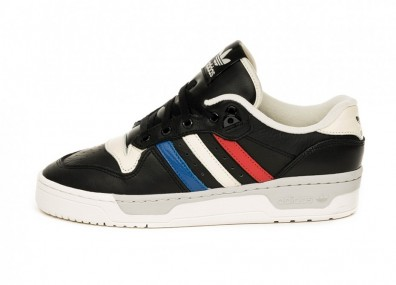Кроссовки adidas Rivalry Low (Core Black / Cloud White / Clear White)