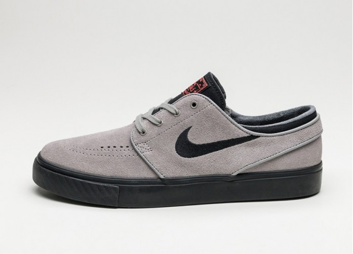 Мужские кроссовки Nike SB Zoom Stefan Janoski (Dust / Black - Ember Glow - White) | Интернет-магазин Sole