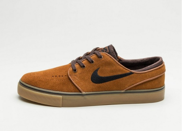 Мужские кроссовки Nike SB Zoom Stefan Janoski (Hazelnut / Black - Baroque Brown) | Интернет-магазин Sole