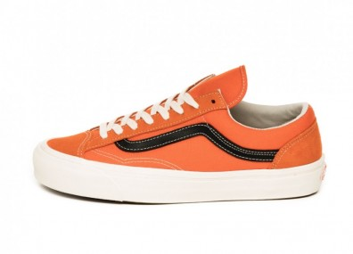 Кеды Vans OG Style 36 LX (Red Orange / Black)