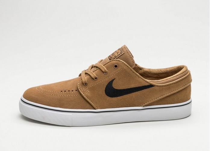 Мужские кроссовки Nike SB Zoom Stefan Janoski (Golden Beige / Black) | Интернет-магазин Sole