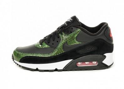 Кроссовки Nike Air Max 90 QS *Python Pack* (Black / Black - Cyber - Fir)