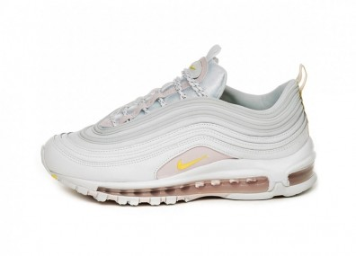 Кроссовки Nike Wmns Air Max 97 SE (White / Opti Yellow - Pale Pink)