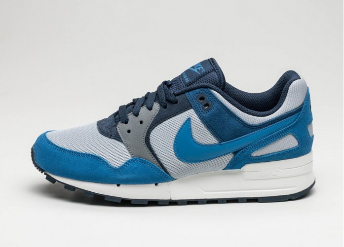 Мужские кроссовки Nike Air Pegasus 89 (Wolf Grey / Star Blue - Coastal Blue) | Интернет-магазин Sole