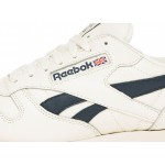 Кроссовки Reebok Classic Leather MU (Chalk / Paperwhite / Collegiate Navy), фото 5 | Интернет-магазин Sole