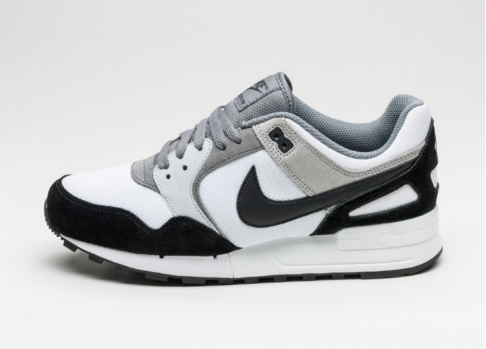 Мужские кроссовки Nike Air Pegasus 89 (White / Black - Wolf Grey - Cool Grey) | Интернет-магазин Sole