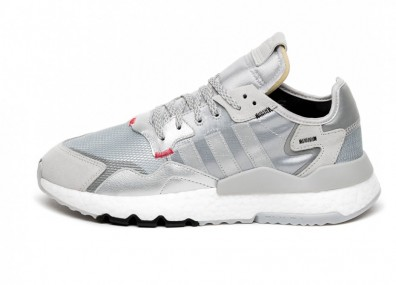 Кроссовки adidas Nite Jogger (Silver Metallic / Light Solid Grey / Core Black)