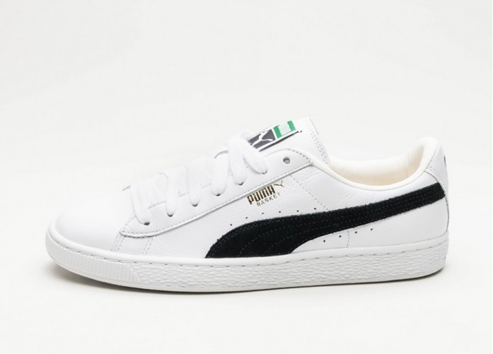 Мужские кроссовки Puma Basket Classic (White / Black) | Интернет-магазин Sole