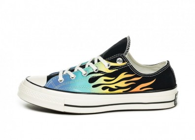 Кеды Converse Chuck Taylor All Star 70 OX *Archive Print* (Black / Turf Orange / Egret)