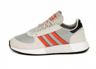 Кроссовки adidas Marathon Tech (Raw White / Active Orange / Collegiate Navy)