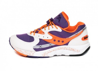 Кроссовки Saucony Aya (White / Purple / Orange)