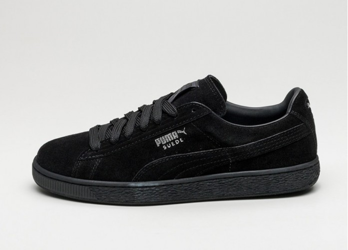Мужские кроссовки Puma Suede Classic+ (Black / Dark Shadow) | Интернет-магазин Sole