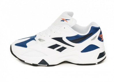 Кроссовки Reebok Aztrek 96 (White / Royal / Fiery)