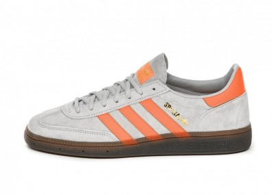 Кроссовки adidas Handball Spezial (Grey Two / Hi Res Coral / Gold Metallic)