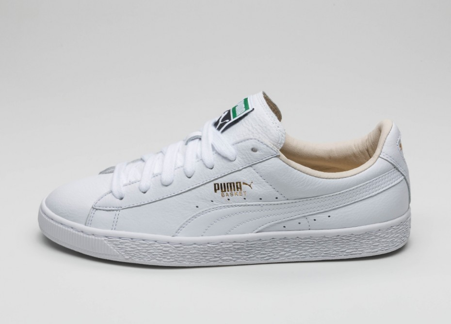 Мужские кроссовки Puma Basket Classic LFS (White - White) 354367 ... c6a2813fb4135