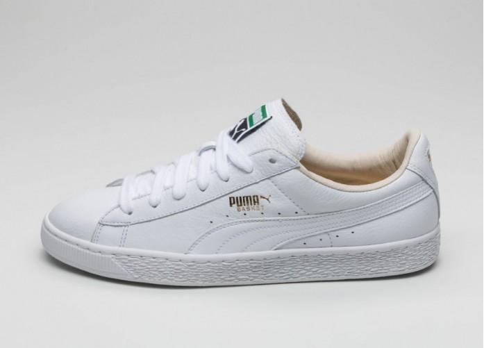 Мужские кроссовки Puma Basket Classic LFS (White / White) | Интернет-магазин Sole