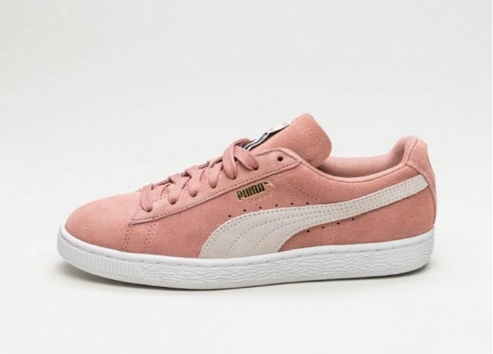 Мужские кроссовки Puma Suede Classic (Cameo Brown / Puma White) | Интернет-магазин Sole