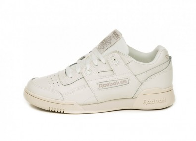 Кроссовки Reebok Workout Lo Plus (Chalk / Weathered White)