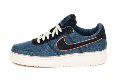 Кроссовки Nike x 3x1 Denim Air Force 1 '07 PRM *Selvedge Denim* (Stonewash Blue / Dark Obsidian)