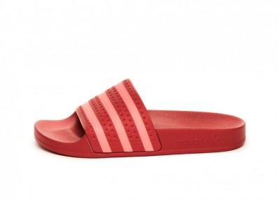 Тапочки adidas Adilette W (Scarlet / Flame Red / Scarlet)