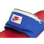 Тапочки Nike Benassi JDI Fanny Pack (Bright Crimson / Bright Crimson), фото 5   Интернет-магазин Sole