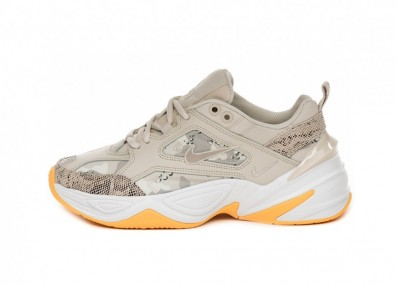 Кроссовки Nike Wmns M2K Tekno (Lite Orewood Brown / Moon Particle - White)