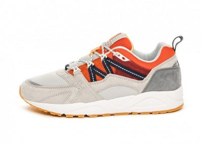 Кроссовки Karhu Fusion 2.0 *Land Of The Midnight Sun* (Lunar Rock / Pureed Pumpkin)