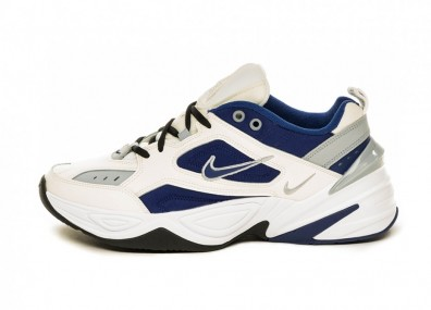 Кроссовки Nike M2K Tekno (Sail / Deep Royal Blue - Wolf Grey - White)