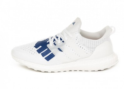 Кроссовки adidas x UNDFTD Ultra Boost (White / White / Red)