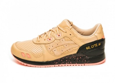 Кроссовки Asics x Sneakerfreaker Gel-Lyte III (Beige / Pink)