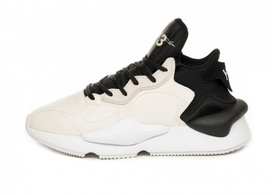 Кроссовки adidas Y-3 Kaiwa (Clear White / Black / Ftwr White)