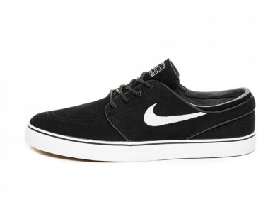 Кеды Nike SB Zoom Stefan Janoski OG (Black / White - Gum Light Brown)
