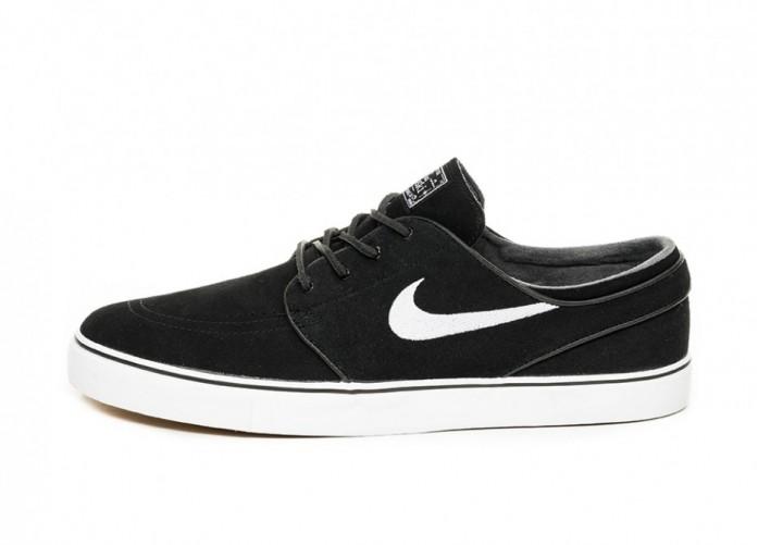 Кеды Nike SB Zoom Stefan Janoski OG (Black / White - Gum Light Brown) | Интернет-магазин Sole