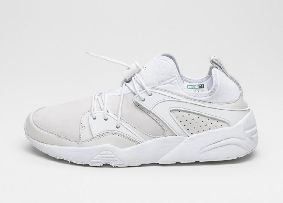Мужские кроссовки Puma X Stampd Blaze Of Glory (White)