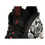 Кроссовки Nike Air Foamposite One *Snakeskin* (Sail / Black - Habanero Red - Black), фото 4   Интернет-магазин Sole