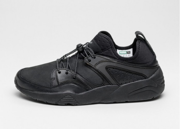 Мужские кроссовки Puma X Stampd Blaze Of Glory (Black) | Интернет-магазин Sole